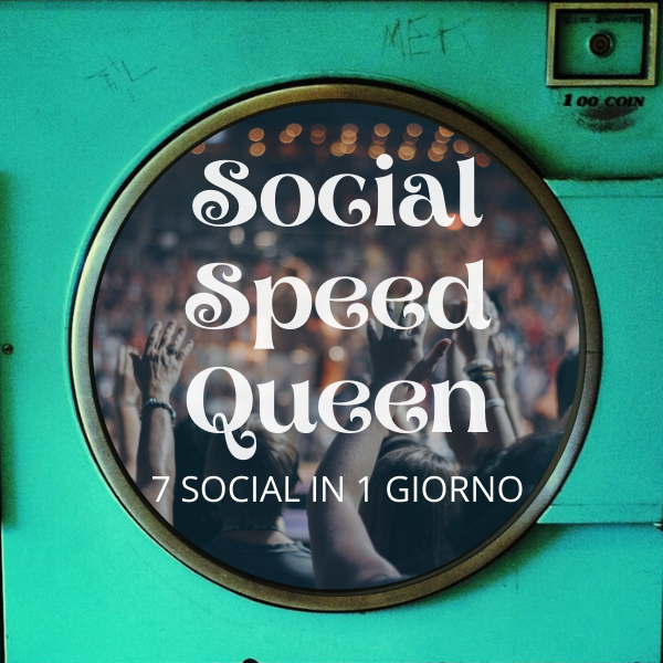 Social Speed Queen Eugenio Chiara Lavanderia Digitale